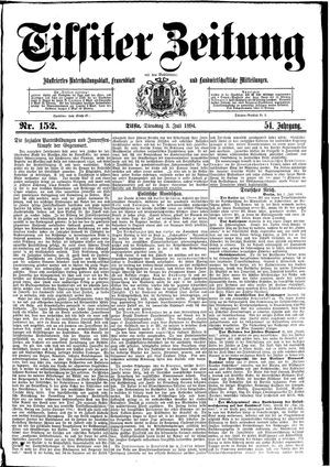 Tilsiter Zeitung vom 03.07.1894