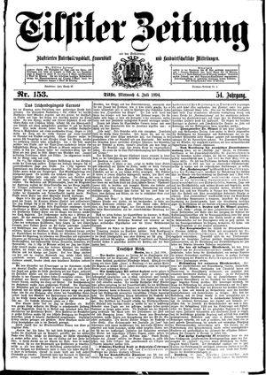 Tilsiter Zeitung vom 04.07.1894