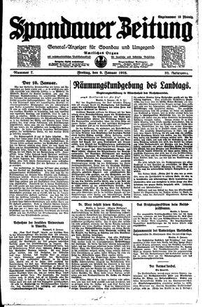 Spandauer Zeitung on Jan 9, 1925