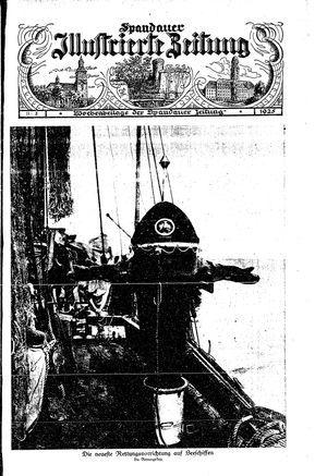 Spandauer Zeitung vom 10.01.1925