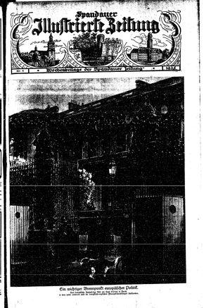 Spandauer Zeitung vom 31.01.1925