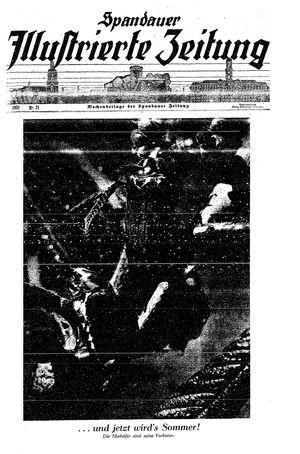 Spandauer Zeitung vom 23.05.1931