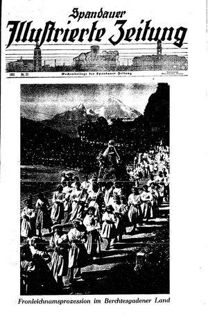Spandauer Zeitung vom 30.05.1931