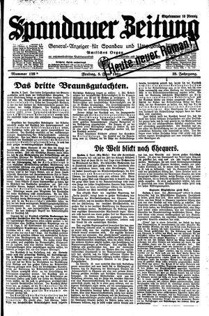 Spandauer Zeitung on Jun 5, 1931