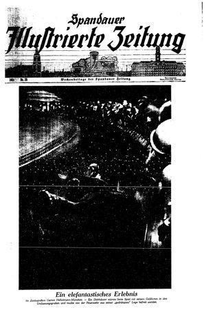 Spandauer Zeitung vom 20.06.1931