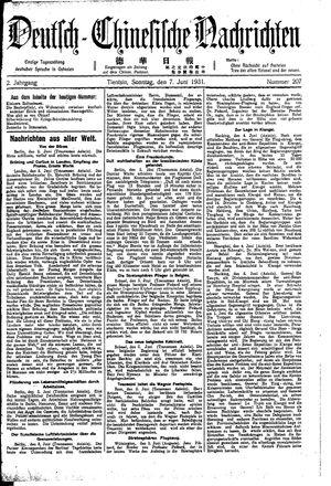 Deutsch-chinesische Nachrichten vom 07.06.1931