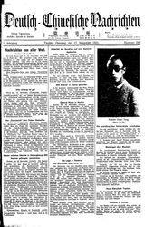 Deutsch-chinesische Nachrichten (17.11.1931)