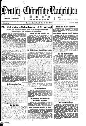 Deutsch-chinesische Nachrichten vom 08.07.1933