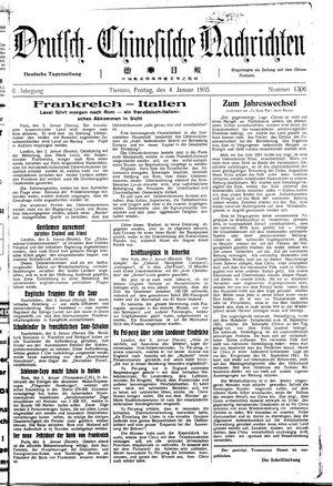 Deutsch-chinesische Nachrichten vom 04.01.1935