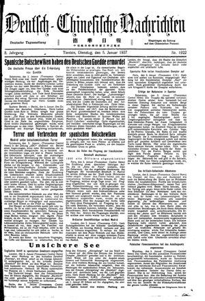 Deutsch-chinesische Nachrichten vom 05.01.1937