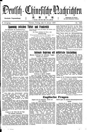 Deutsch-chinesische Nachrichten vom 08.01.1937