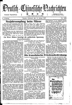 Deutsch-chinesische Nachrichten vom 13.01.1937