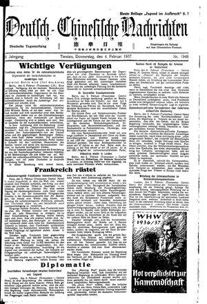 Deutsch-chinesische Nachrichten vom 04.02.1937