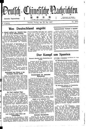Deutsch-chinesische Nachrichten vom 28.05.1937