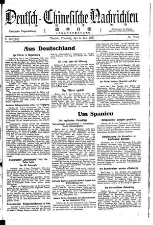 Deutsch-chinesische Nachrichten vom 08.06.1937
