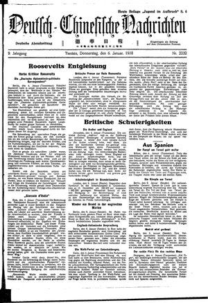 Deutsch-chinesische Nachrichten vom 06.01.1938