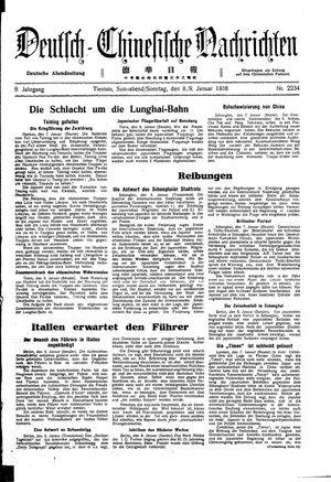 Deutsch-chinesische Nachrichten vom 08.01.1938