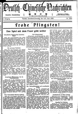 Deutsch-chinesische Nachrichten vom 04.06.1938