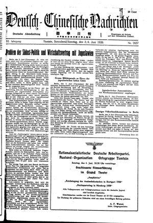 Deutsch-chinesische Nachrichten vom 03.06.1939