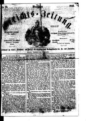 Berliner Gerichts-Zeitung on Dec 17, 1853