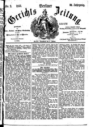 Berliner Gerichts-Zeitung on Jan 6, 1855