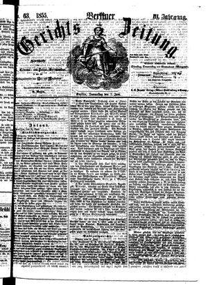 Berliner Gerichts-Zeitung vom 07.06.1855