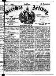 Berliner Gerichts-Zeitung (21.07.1855)