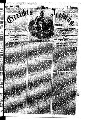 Berliner Gerichts-Zeitung vom 20.05.1858
