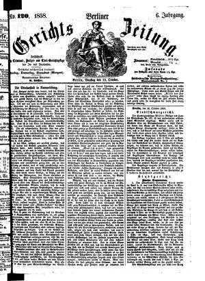 Berliner Gerichts-Zeitung on Oct 19, 1858