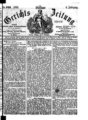 Berliner Gerichts-Zeitung vom 02.11.1858