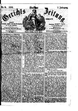 Berliner Gerichts-Zeitung vom 18.01.1859