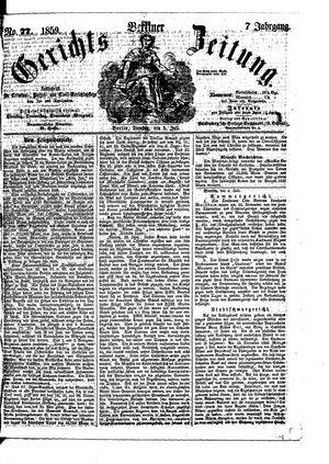 Berliner Gerichts-Zeitung vom 05.07.1859