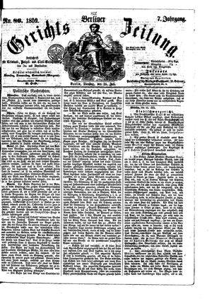 Berliner Gerichts-Zeitung on Jul 26, 1859