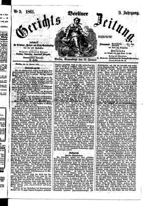 Berliner Gerichts-Zeitung on Jan 19, 1861