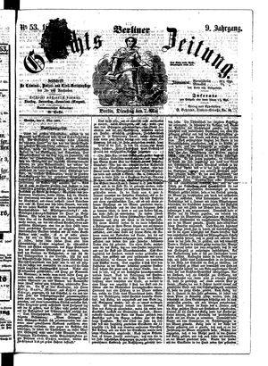 Berliner Gerichts-Zeitung vom 07.05.1861