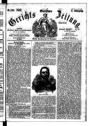 Berliner Gerichts-Zeitung vom 19.11.1861