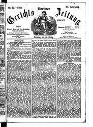 Berliner Gerichts-Zeitung (18.03.1862)