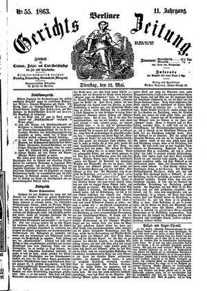 Berliner Gerichts-Zeitung vom 12.05.1863