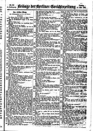 Berliner Gerichts-Zeitung vom 19.05.1863