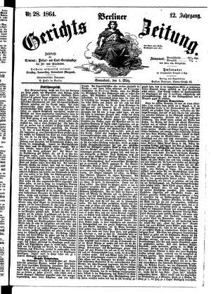 Berliner Gerichts-Zeitung on Mar 5, 1864