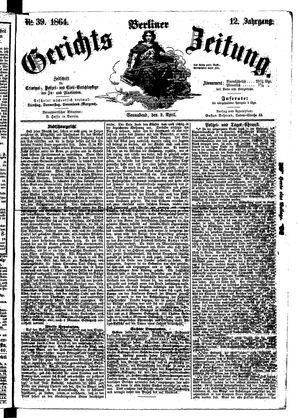 Berliner Gerichts-Zeitung vom 02.04.1864