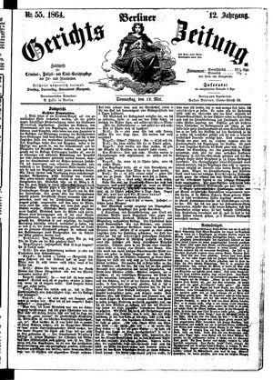 Berliner Gerichts-Zeitung vom 12.05.1864
