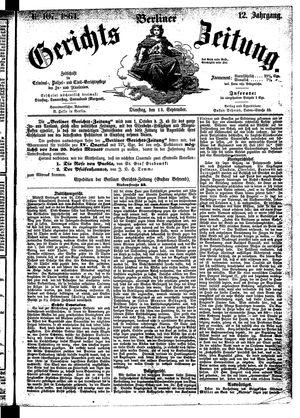 Berliner Gerichts-Zeitung vom 13.09.1864