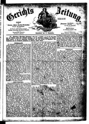 Berliner Gerichts-Zeitung vom 17.09.1864