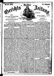Berliner Gerichts-Zeitung (22.09.1864)