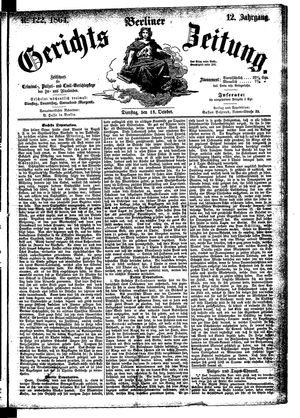 Berliner Gerichts-Zeitung on Oct 18, 1864