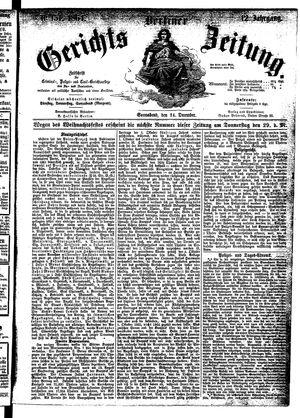 Berliner Gerichts-Zeitung vom 24.12.1864