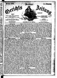 Berliner Gerichts-Zeitung (22.02.1866)