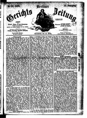 Berliner Gerichts-Zeitung on Mar 10, 1866