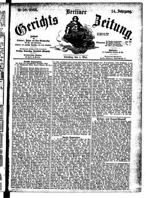 Berliner Gerichts-Zeitung vom 01.05.1866